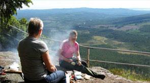 Besök Hykieberg i Dalarna, Älvdalens Camping