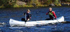 Paddla kanot på Dalälven, Älvdalens Camping